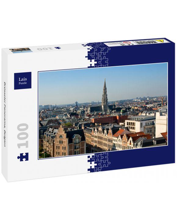Lais Puzzle - Brüsseler Panorama, Belgien - 100 Teile