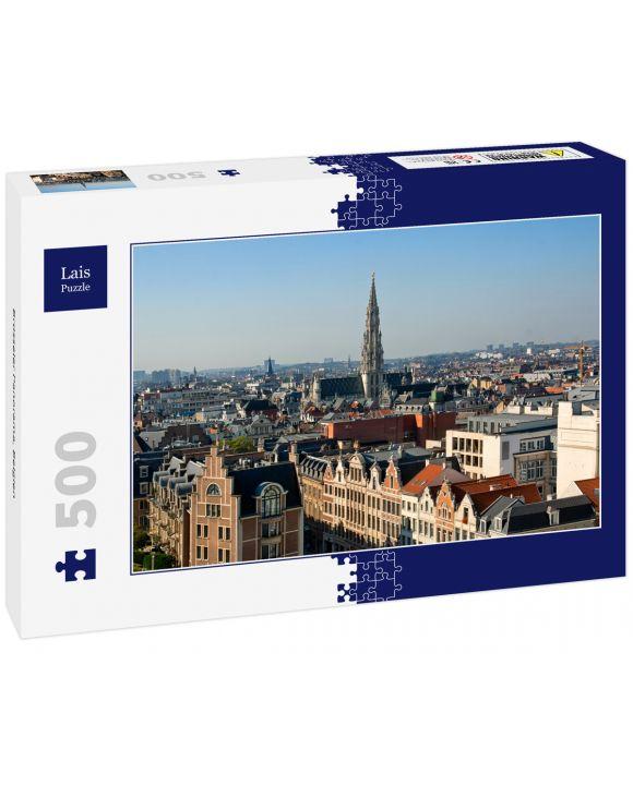 Lais Puzzle - Brüsseler Panorama, Belgien - 500 Teile