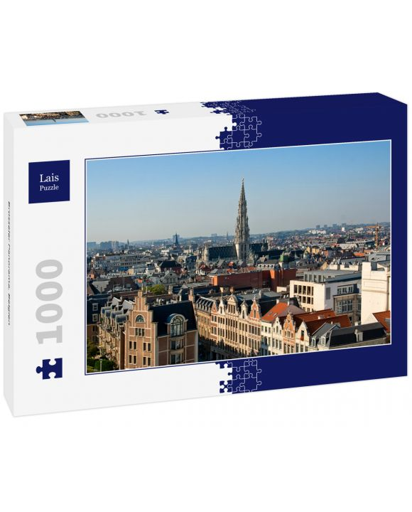 Lais Puzzle - Brüsseler Panorama, Belgien - 1.000 Teile