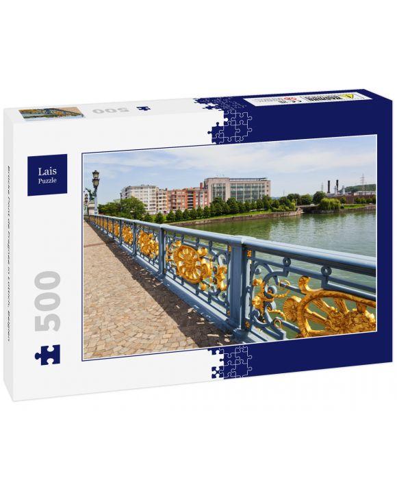 Lais Puzzle - Brücke Pont de Fragnee in Lüttich, Belgien - 500 Teile