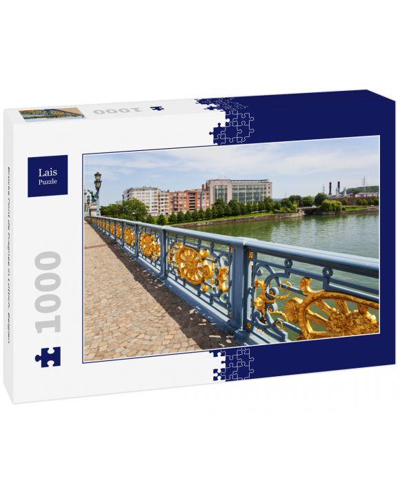 Lais Puzzle - Brücke Pont de Fragnee in Lüttich, Belgien - 1.000 Teile