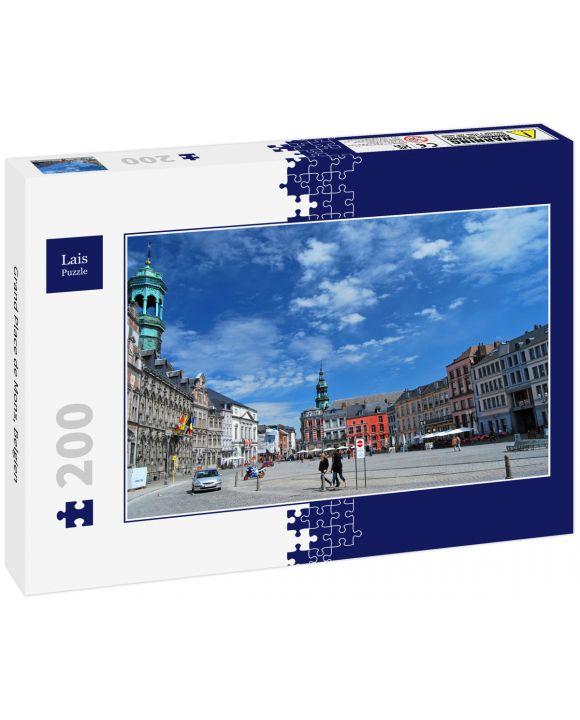 Lais Puzzle - Grand Place de Mons, Belgien - 200 Teile