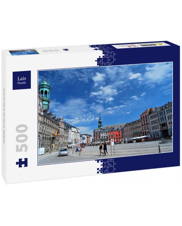 Lais Puzzle - Grand Place de Mons, Belgien - 500 Teile
