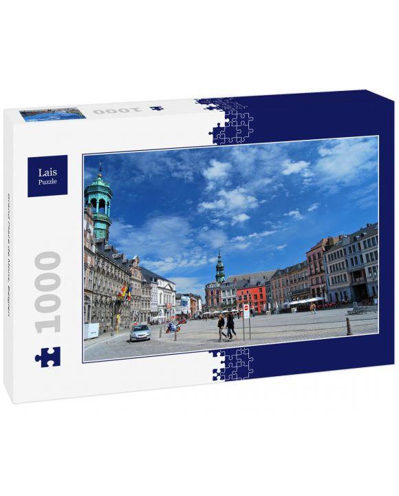 Lais Puzzle - Grand Place de Mons, Belgien - 1.000 Teile