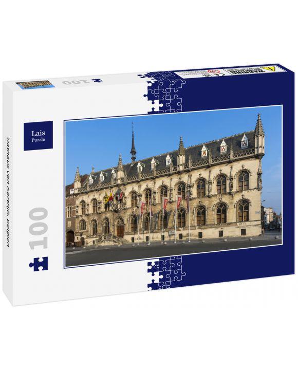 Lais Puzzle - Rathaus von Kortrijk, Belgien - 100 Teile