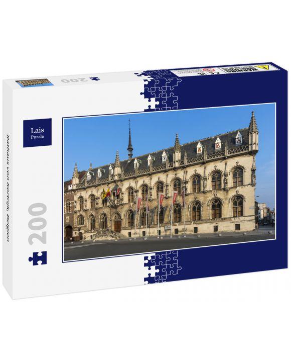 Lais Puzzle - Rathaus von Kortrijk, Belgien - 200 Teile