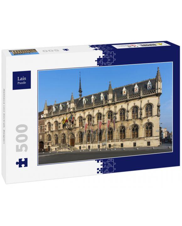Lais Puzzle - Rathaus von Kortrijk, Belgien - 500 Teile