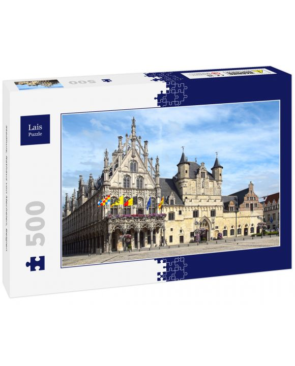 Lais Puzzle - Stadhuis, Rathaus von Mechelen, Belgien - 500 Teile