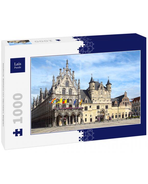 Lais Puzzle - Stadhuis, Rathaus von Mechelen, Belgien - 1.000 Teile