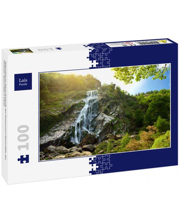 Lais Puzzle - Majestätische Wasserkaskade des Powerscourt-Wasserfalls, des höchsten Wasserfalls in Irland - 100 Teile