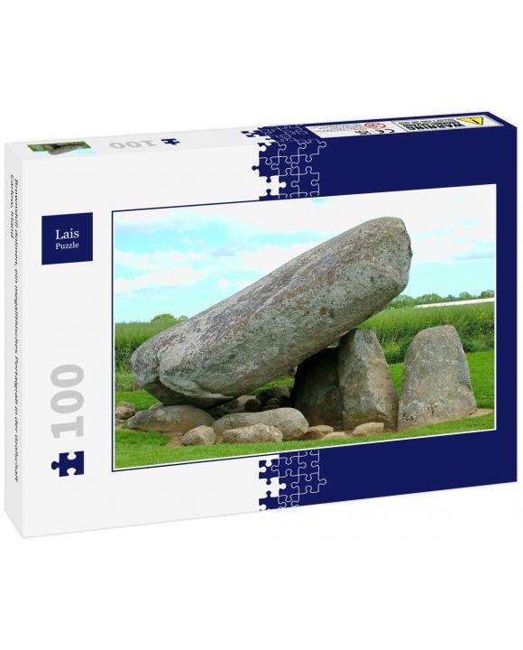 Lais Puzzle - Brownshill dolmen, ein megalithisches Portalgrab in der Grafschaft Carlow, Irland - 100 Teile