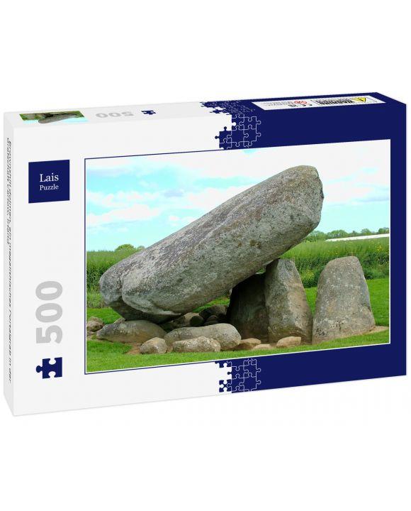 Lais Puzzle - Brownshill dolmen, ein megalithisches Portalgrab in der Grafschaft Carlow, Irland - 500 Teile