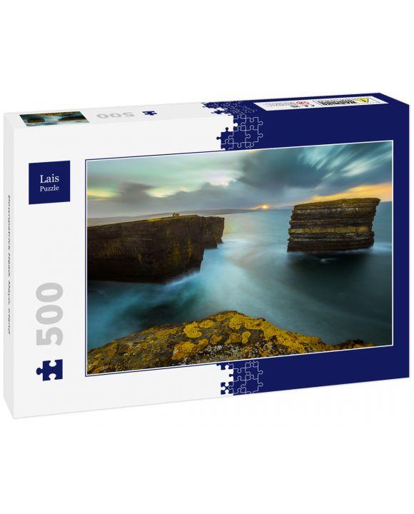 Lais Puzzle - Downpatrick Head, Mayo, Irland - 500 Teile