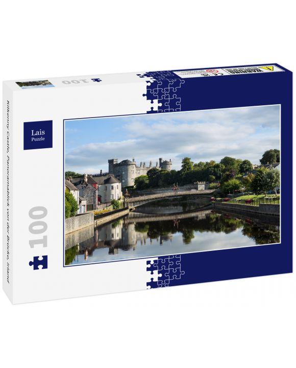 Lais Puzzle - Kilkenny Castle, Panoramablick von der Brücke, Irland - 100 Teile