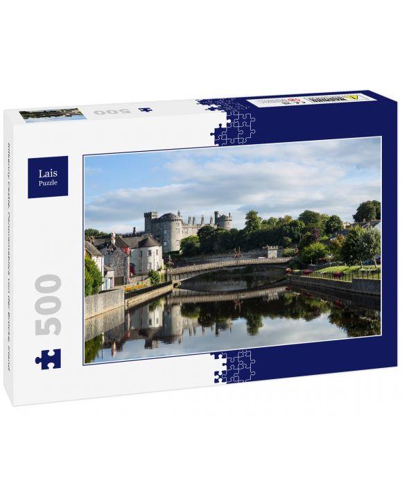 Lais Puzzle - Kilkenny Castle, Panoramablick von der Brücke, Irland - 500 Teile