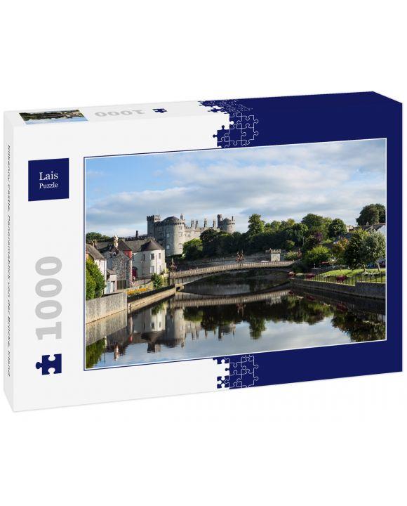 Lais Puzzle - Kilkenny Castle, Panoramablick von der Brücke, Irland - 1.000 Teile