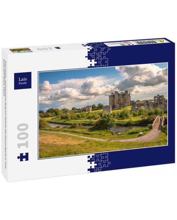 Lais Puzzle - Trim Castle, normannische Burg am Südufer des Flusses Boyne in Trim, Grafschaft Meath, Irland - 100 Teile