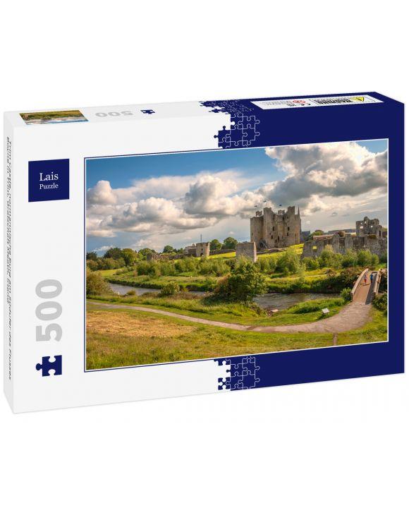 Lais Puzzle - Trim Castle, normannische Burg am Südufer des Flusses Boyne in Trim, Grafschaft Meath, Irland - 500 Teile