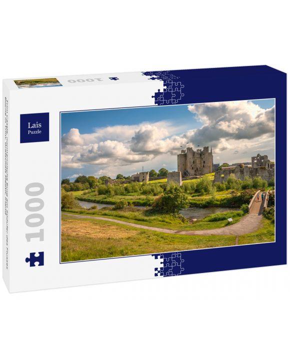 Lais Puzzle - Trim Castle, normannische Burg am Südufer des Flusses Boyne in Trim, Grafschaft Meath, Irland - 1.000 Teile