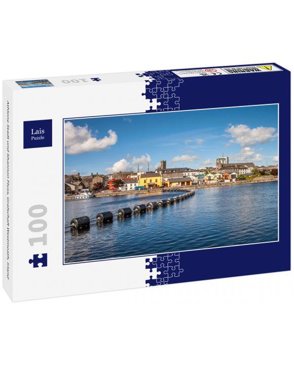 Lais Puzzle - Athlone Stadt und Shannon Fluss, Grafschaft Westmeath, Irland - 100 Teile