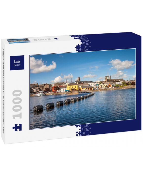 Lais Puzzle - Athlone Stadt und Shannon Fluss, Grafschaft Westmeath, Irland - 1.000 Teile