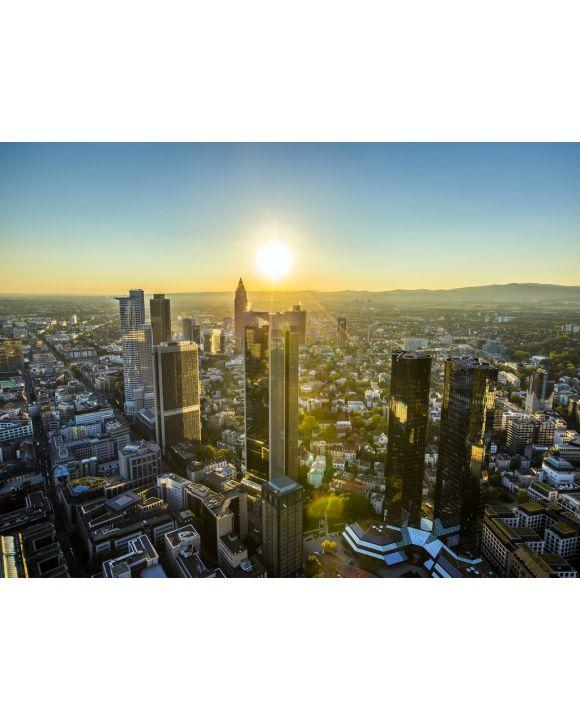 Lais Puzzle - Frankfurt in der Abenddämmerung - 1.000 Teile