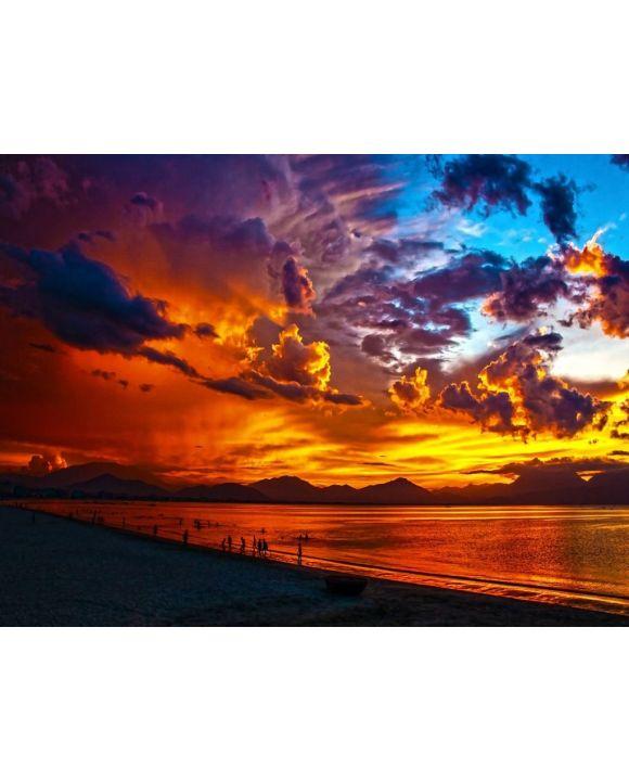 Lais Puzzle - Sonnenuntergang am Strand - 100, 200, 500, 1.000 & 2.000 Teile
