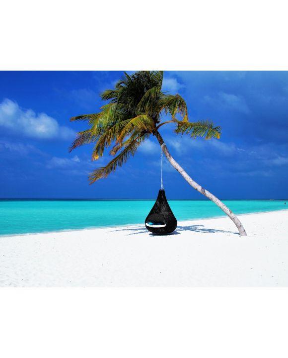 Lais Puzzle - Palme am Strand in Malediven - 100, 200, 500, 1.000 & 2.000 Teile