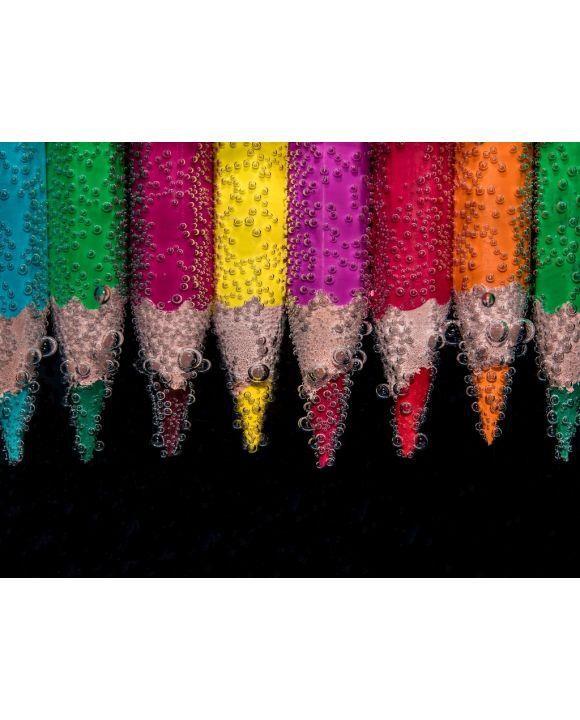 Lais Puzzle - Farbstifte im Wasser - 100, 200, 500, 1.000 & 2.000 Teile